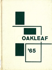 1965 Edition, Auglaize Brown High School - Oakleaf Yearbook (Oakwood, OH)