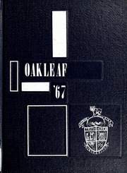 1967 Edition, Auglaize Brown High School - Oakleaf Yearbook (Oakwood, OH)