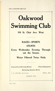 Page 10, 1929 Edition, Oakwood Collegiate Institute - Oracle Yearbook (Toronto Ontario, Canada) online yearbook collection