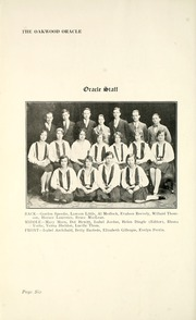 Page 12, 1929 Edition, Oakwood Collegiate Institute - Oracle Yearbook (Toronto Ontario, Canada) online yearbook collection