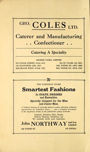Page 6, 1929 Edition, Oakwood Collegiate Institute - Oracle Yearbook (Toronto Ontario, Canada) online yearbook collection