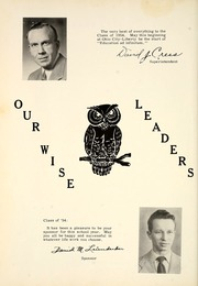 Page 10, 1954 Edition, Ohio City Liberty High School - O Citian Yearbook (Ohio City, OH) online yearbook collection