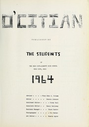 Page 5, 1964 Edition, Ohio City Liberty High School - O Citian Yearbook (Ohio City, OH) online yearbook collection