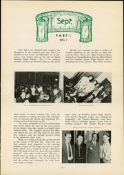 Page 17, 1938 Edition, Santa Barbara High School - Olive and Gold Yearbook (Santa Barbara, CA) online yearbook collection