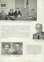 Page 14, 1953 Edition, Santa Barbara High School - Olive and Gold Yearbook (Santa Barbara, CA) online yearbook collection