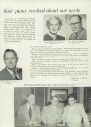 Page 15, 1953 Edition, Santa Barbara High School - Olive and Gold Yearbook (Santa Barbara, CA) online yearbook collection