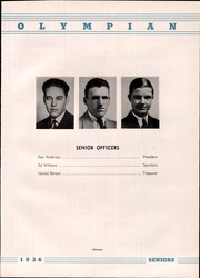 Page 15, 1936 Edition, Marietta High School - Olympian Yearbook (Marietta, GA) online yearbook collection