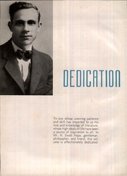 Page 4, 1936 Edition, Marietta High School - Olympian Yearbook (Marietta, GA) online yearbook collection