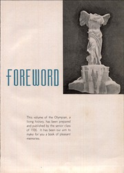 Page 5, 1936 Edition, Marietta High School - Olympian Yearbook (Marietta, GA) online yearbook collection