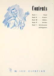 Page 10, 1939 Edition, Marietta High School - Olympian Yearbook (Marietta, GA) online yearbook collection