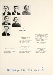 Page 13, 1939 Edition, Marietta High School - Olympian Yearbook (Marietta, GA) online yearbook collection