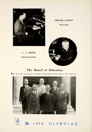 Page 14, 1939 Edition, Marietta High School - Olympian Yearbook (Marietta, GA) online yearbook collection