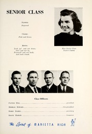 Page 15, 1939 Edition, Marietta High School - Olympian Yearbook (Marietta, GA) online yearbook collection