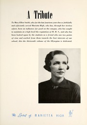 Page 9, 1939 Edition, Marietta High School - Olympian Yearbook (Marietta, GA) online yearbook collection