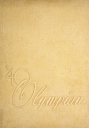 Page 1, 1940 Edition, Marietta High School - Olympian Yearbook (Marietta, GA) online yearbook collection