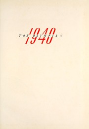 Page 5, 1940 Edition, Marietta High School - Olympian Yearbook (Marietta, GA) online yearbook collection