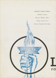 Page 6, 1943 Edition, Marietta High School - Olympian Yearbook (Marietta, GA) online yearbook collection