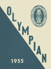 Page 1, 1955 Edition, Marietta High School - Olympian Yearbook (Marietta, GA) online yearbook collection