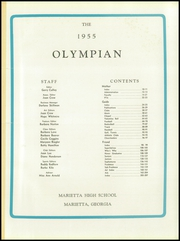 Page 5, 1955 Edition, Marietta High School - Olympian Yearbook (Marietta, GA) online yearbook collection