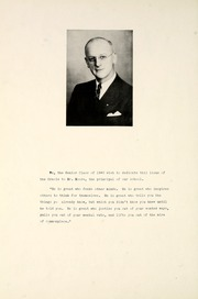 Page 10, 1940 Edition, Ossian High School - Oracle Yearbook (Ossian, IN) online yearbook collection