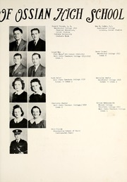 Page 13, 1940 Edition, Ossian High School - Oracle Yearbook (Ossian, IN) online yearbook collection