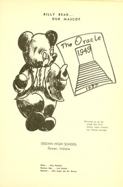 Page 5, 1949 Edition, Ossian High School - Oracle Yearbook (Ossian, IN) online yearbook collection
