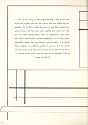 Page 6, 1963 Edition, Ossian High School - Oracle Yearbook (Ossian, IN) online yearbook collection