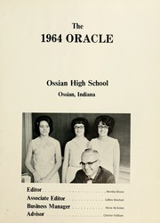 Page 5, 1964 Edition, Ossian High School - Oracle Yearbook (Ossian, IN) online yearbook collection