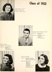 Page 11, 1953 Edition, Leo High School - Oracle Yearbook (Leo, IN) online yearbook collection