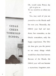 Page 6, 1961 Edition, Leo High School - Oracle Yearbook (Leo, IN) online yearbook collection