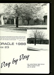 Page 5, 1988 Edition, Leo High School - Oracle Yearbook (Leo, IN) online yearbook collection