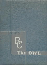 Reagan County High School - Owl Yearbook (Big Lake, TX) online yearbook collection, 1956 Edition, Page 1