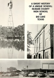 Page 6, 1970 Edition, Reagan County High School - Owl Yearbook (Big Lake, TX) online yearbook collection