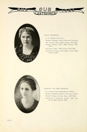 Page 16, 1922 Edition, Berne French Township High School - Our Yesterdays Yearbook (Berne, IN) online yearbook collection