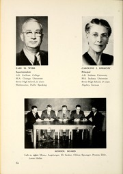 Page 10, 1950 Edition, Berne French Township High School - Our Yesterdays Yearbook (Berne, IN) online yearbook collection