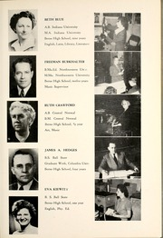 Page 11, 1950 Edition, Berne French Township High School - Our Yesterdays Yearbook (Berne, IN) online yearbook collection