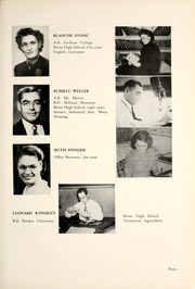 Page 13, 1950 Edition, Berne French Township High School - Our Yesterdays Yearbook (Berne, IN) online yearbook collection
