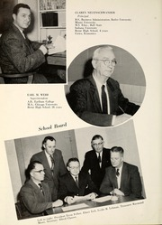 Page 10, 1956 Edition, Berne French Township High School - Our Yesterdays Yearbook (Berne, IN) online yearbook collection