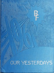 Page 1, 1961 Edition, Berne French Township High School - Our Yesterdays Yearbook (Berne, IN) online yearbook collection