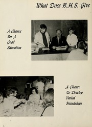 Page 10, 1965 Edition, Berne French Township High School - Our Yesterdays Yearbook (Berne, IN) online yearbook collection