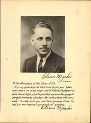 Page 7, 1939 Edition, Whitmer High School - Oracle Yearbook (Toledo, OH) online yearbook collection