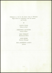Page 7, 1943 Edition, Whitmer High School - Oracle Yearbook (Toledo, OH) online yearbook collection