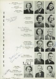 Page 16, 1948 Edition, Whitmer High School - Oracle Yearbook (Toledo, OH) online yearbook collection