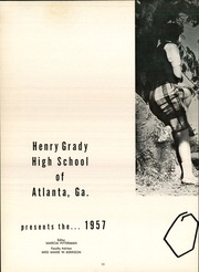 Page 14, 1957 Edition, Henry Grady High School - Orator Yearbook (Atlanta, GA) online yearbook collection