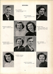 Page 17, 1950 Edition, Wyoming Park High School - Orbit Yearbook (Wyoming, MI) online yearbook collection