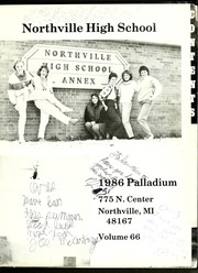Page 5, 1986 Edition, Northville High School - Palladium Yearbook (Northville, MI) online yearbook collection