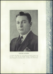 Page 11, 1936 Edition, Battle Creek Central High School - Paean Yearbook (Battle Creek, MI) online yearbook collection