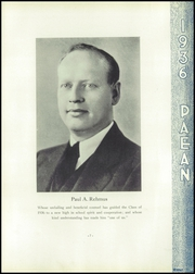 Page 13, 1936 Edition, Battle Creek Central High School - Paean Yearbook (Battle Creek, MI) online yearbook collection
