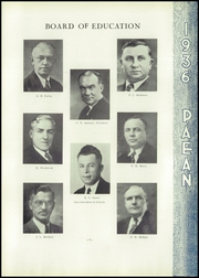 Page 15, 1936 Edition, Battle Creek Central High School - Paean Yearbook (Battle Creek, MI) online yearbook collection