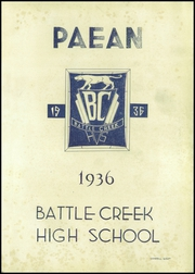 Page 5, 1936 Edition, Battle Creek Central High School - Paean Yearbook (Battle Creek, MI) online yearbook collection